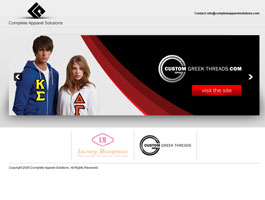 Complete Apparel Solutions Slideshow Design